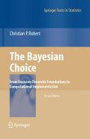 The Bayesian Choice Pdf/ePub eBook