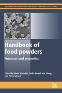 Handbook of Food Powders: Processes and Properties