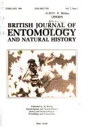 British Journal of Entomology and Natural History