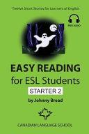 Easy Reading for ESL Students   Starter 2 Book