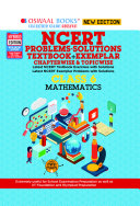 Oswaal NCERT Problems   Solutions  Textbook   Exemplar  Class 6 Mathematics Book  For 2022 Exam