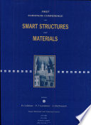 First European Conference on Smart Structures and Materials  Proceedings of the INT Conference held in Glasgow  12 14 May 1992 Book