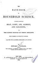 The Hand-book of Household Science