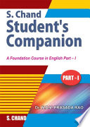 S.Chand'S Students Companion (Part-1)