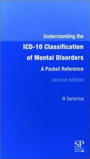 Understanding the ICD-10 Classification of Mental Disorders