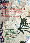 Youth In Europe An International Empirical Study About The Impact Of Religion On Life Orientation