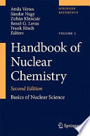 Handbook Of Nuclear Chemistry Book PDF