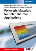 Polymeric Materials for Solar Thermal Applications Book
