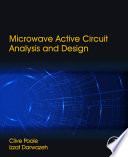 Microwave Active Circuit Analysis and Design Book