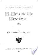 The Handy Volume  Waverly       A legend of Montrose   c