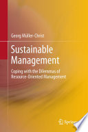 Sustainable Management Book