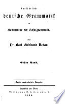 Ausführliche deutsche Grammatik