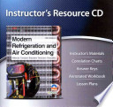 Modern Refrigeration and Air Conditioning Instructor's Resource