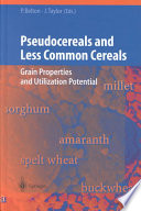 Pseudocereals And Less Common Cereals Book PDF