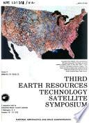 Third Earth Resources Technology Satellite 1 Symposium