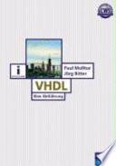 VHDL  : Eine Einführung