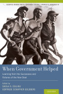When Government Helped