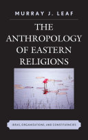 Pdf The Anthropology of Eastern Religions Telecharger