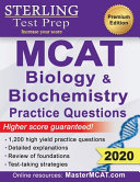 Sterling Test Prep MCAT Biology   Biochemistry Practice Questions  High Yield MCAT Questions