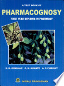 """Pharmacognosy"" by Mr. S. B. Gokhale"