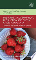 Sustainable Consumption  Production and Supply Chain Management