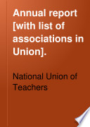 Annual Report  with List of Associations in Union