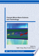 Current Micro Nano Science and Technology Book