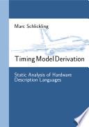 Timing Model Derivation Book PDF