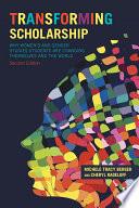 Transforming Scholarship Book