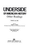 The Underside Of American History