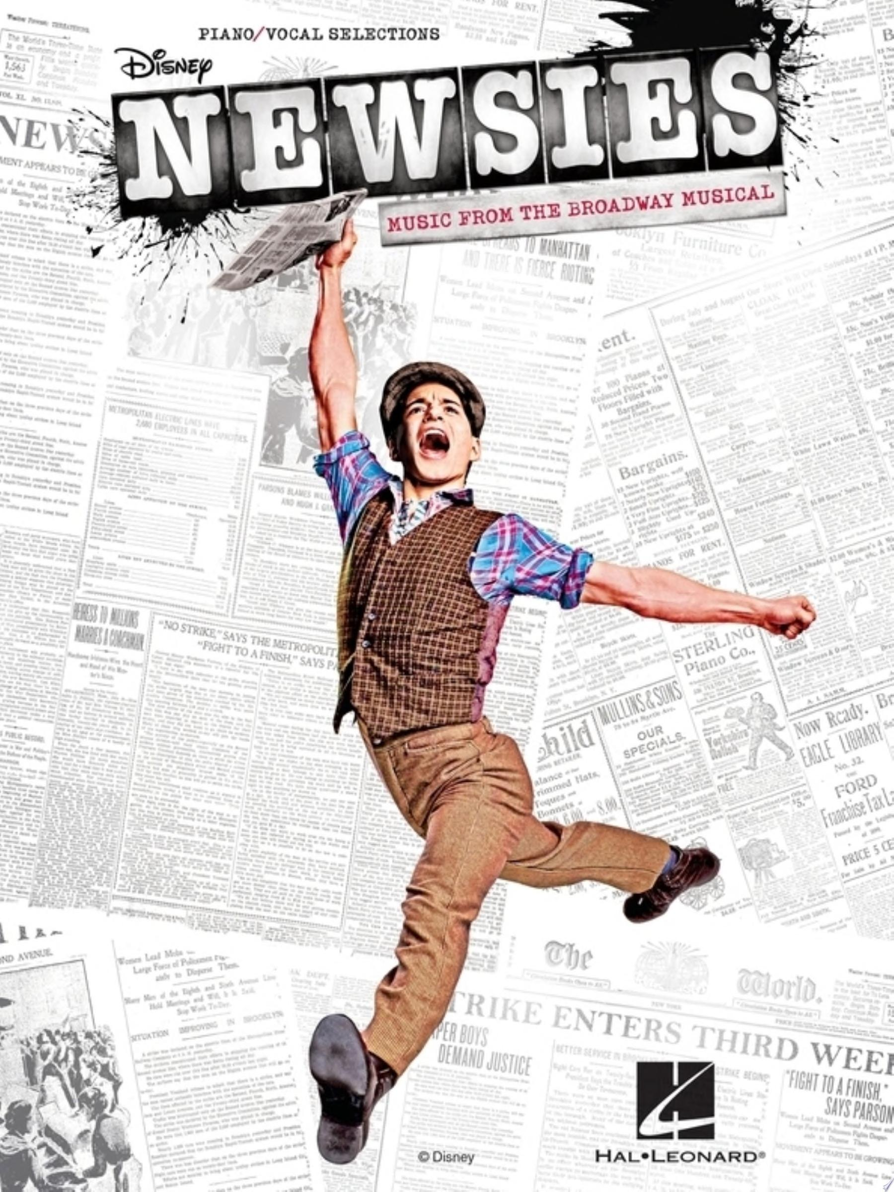 Newsies Songbook