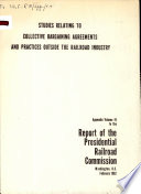 Report of the Presidential Railroad Commission