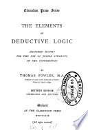 The Elements of Deductive Logic