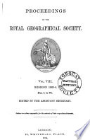 Proceedings Of The Royal Geographical Society And Monthly Record Of Geography Book PDF