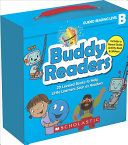 Buddy Readers  Parent Pack   Level B  20 Leveled Books for Little Learners Book PDF