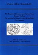 Empirische Dimension Altorientalischer Forschungen