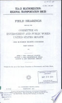TEA 21 Reauthorization