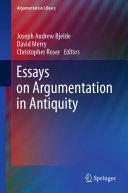 Essays on Argumentation in Antiquity [Pdf/ePub] eBook