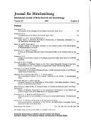 Journal für Hirnforschung