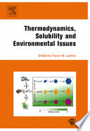 Thermodynamics  Solubility and Environmental Issues Book