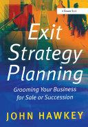 Exit Strategy Planning Pdf/ePub eBook