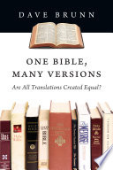 One Bible  Many Versions