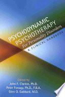 Psychodynamic Psychotherapy for Personality Disorders Book
