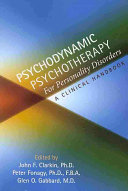 Psychodynamic Psychotherapy for Personality Disorders
