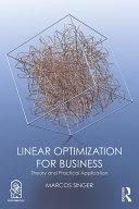 Linear Optimization for Business Pdf/ePub eBook