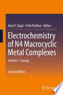 Electrochemistry of N4 Macrocyclic Metal Complexes Book