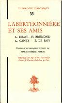 Laberthonnière et ses amis