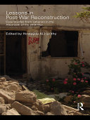 Lessons in Post War Reconstruction