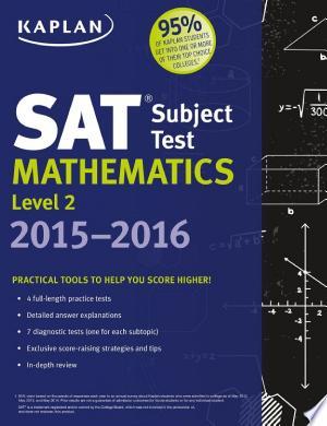 Download Kaplan SAT Subject Test Mathematics Level 2 2015-2016 Free Books - Reading Best Books For Free 2018