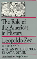The Role of the Americas in History